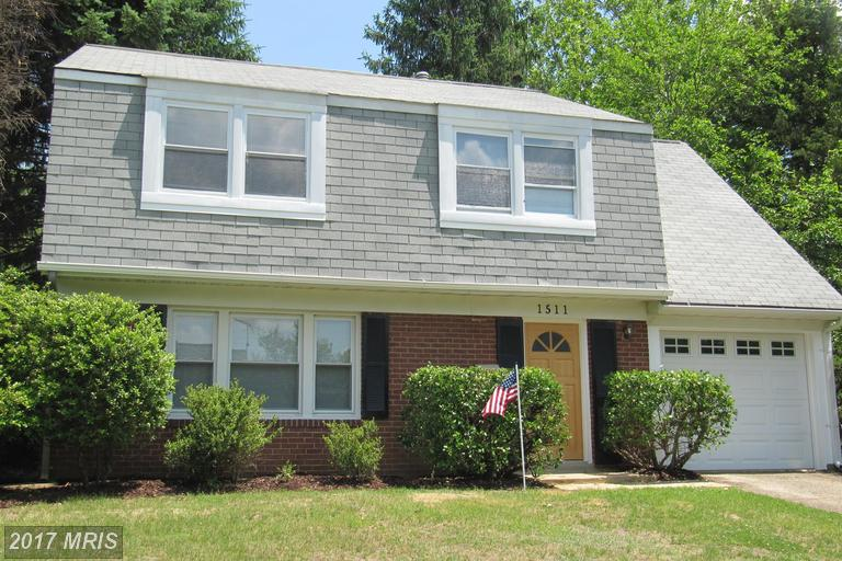 1511 PICKFORD LANE, Bowie, Maryland